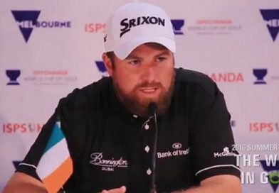 Shane Lowry's comments on golf courses and growing the game go viral: video