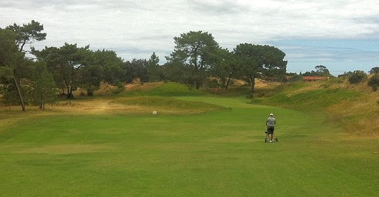 Royal Adelaide Golf 3rd hole