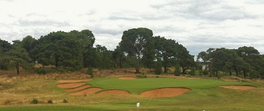 Royal Adelaide Golf 7th hole