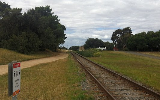 Royal Adelaide Golf train